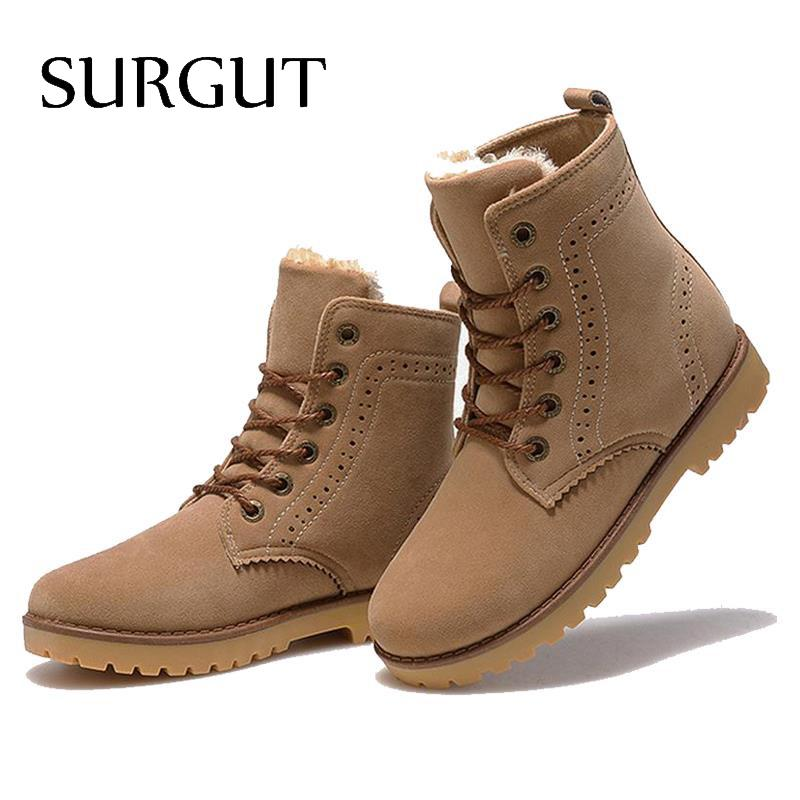 winter shoes women 39 s winter suede boots for men ladies snow boot botines mujer chaussure femme. Black Bedroom Furniture Sets. Home Design Ideas