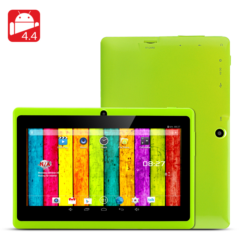 7 inch Q88 Q8H allwinner A23 Dual core (or A33 Quad Core) Android 4 4  512M/4G tablet pc Capacitive Dual camera WIFI External 3G