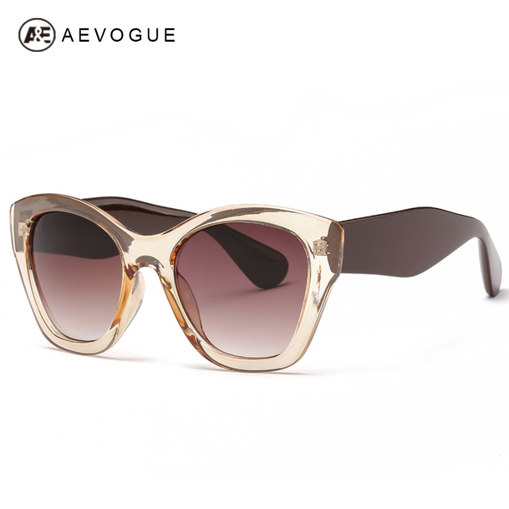 9608866f63 AEVOGUE with case Newest Butterfly brand Eyewear Fashion sunglasses women  hot selling sun glasses High quality UV400 AE0187