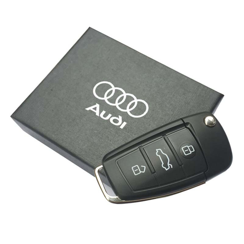 car key usb stick for audi gift usb flash drive creative. Black Bedroom Furniture Sets. Home Design Ideas
