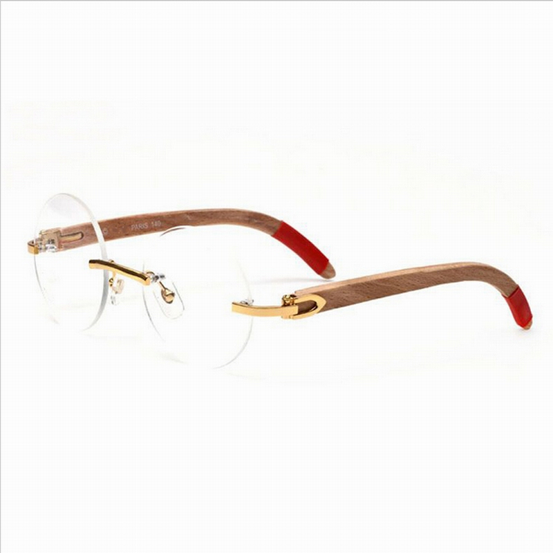 Carter Sunglasses Men Carter Glasses Wood Bamboo and Metal Frame ...
