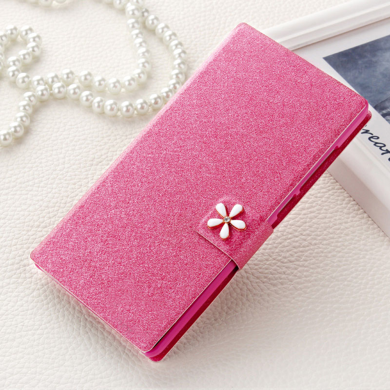 pretty nice 18bc6 92c7b Cover For samsung galaxy Grand Prime G530 G530H mobile phone case new  luxury flip cover with three kinds of diamond buckle