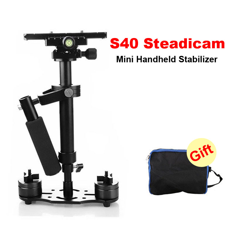 S40 40cm Professional Handheld Stabilizer Steadicam For