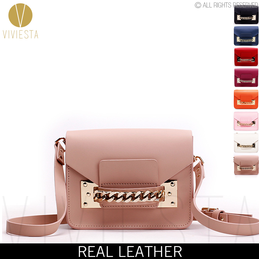 79efa8ec61e GENUINE LEATHER CHAIN MINI ENVELOPE CROSSBODY BAG – Women's 2015 New Brand  Fashion Cute Small Shoulder Clutch Bag Purse Handbag