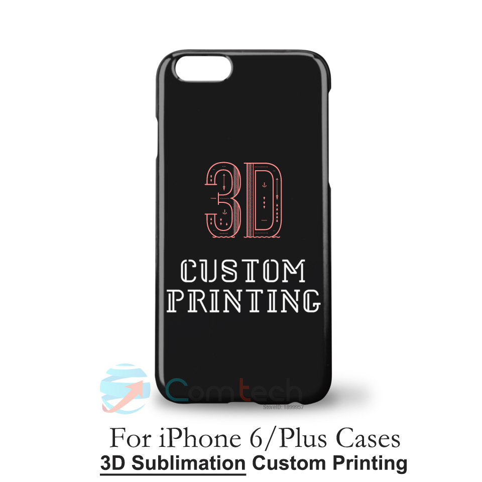 Glossy hard plastic case for iphone 6 custom printed case for Diy custom phone case