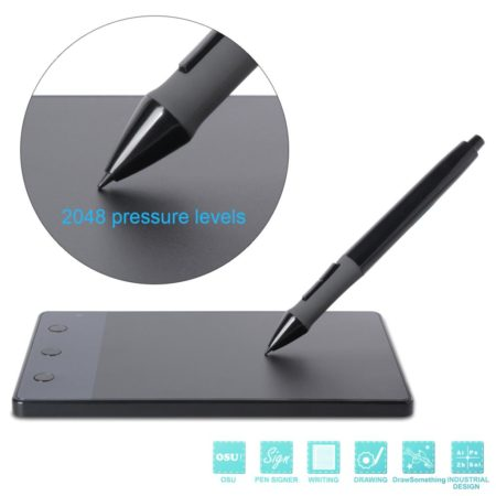 New Genuine HUION H420 USB Graphics Drawing Tablet 4 x 2 23