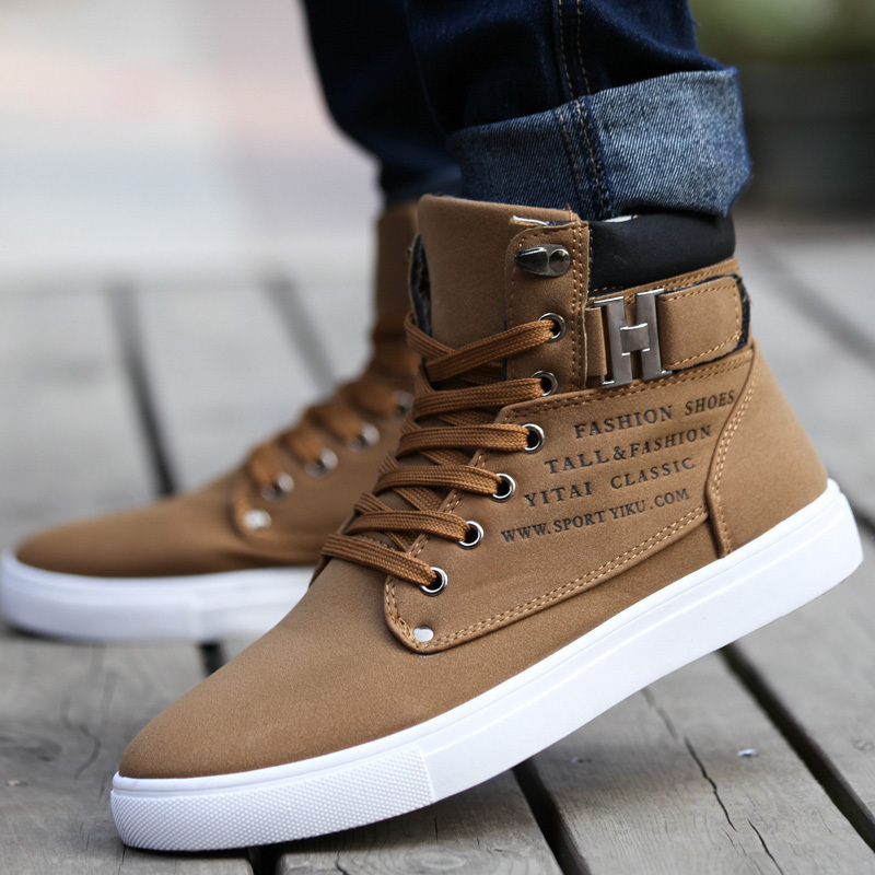 a77b4ba94a4ed Men Shoes Sapatos Tenis Masculino Male Fashion Spring Autumn Leather ...