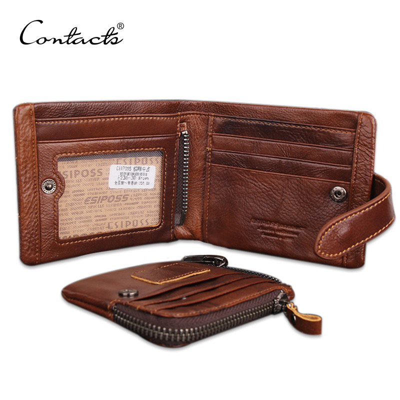 Classical European and American Style Men Wallets Genuine ...