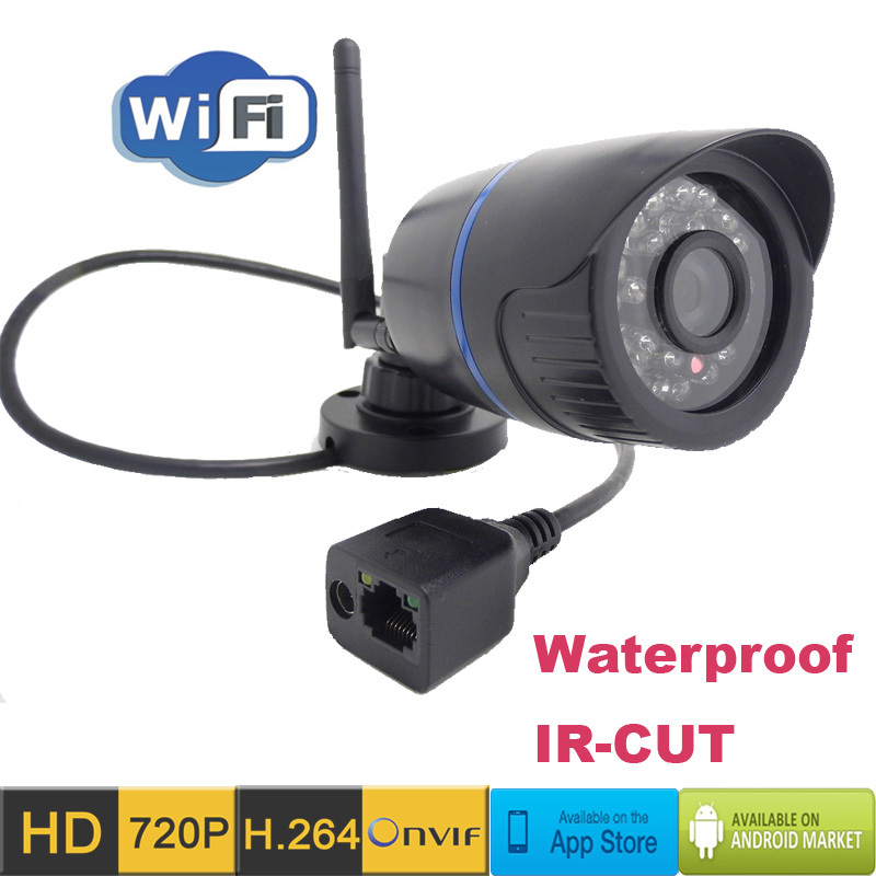 ip camera wireless wifi hd 720p outdoor waterproof. Black Bedroom Furniture Sets. Home Design Ideas