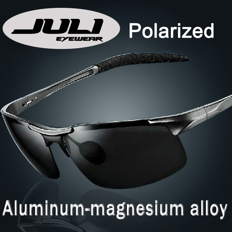 d9feff9f9128 2014 Male Sunglasses Polarized Gafas Aluminum Magnesium Alloy Polaroid  Sunglasses Men Women Brand Designer Driving Oculos 8177