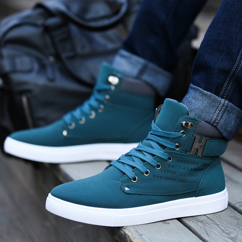 Pu Leather Men Boots Fashion