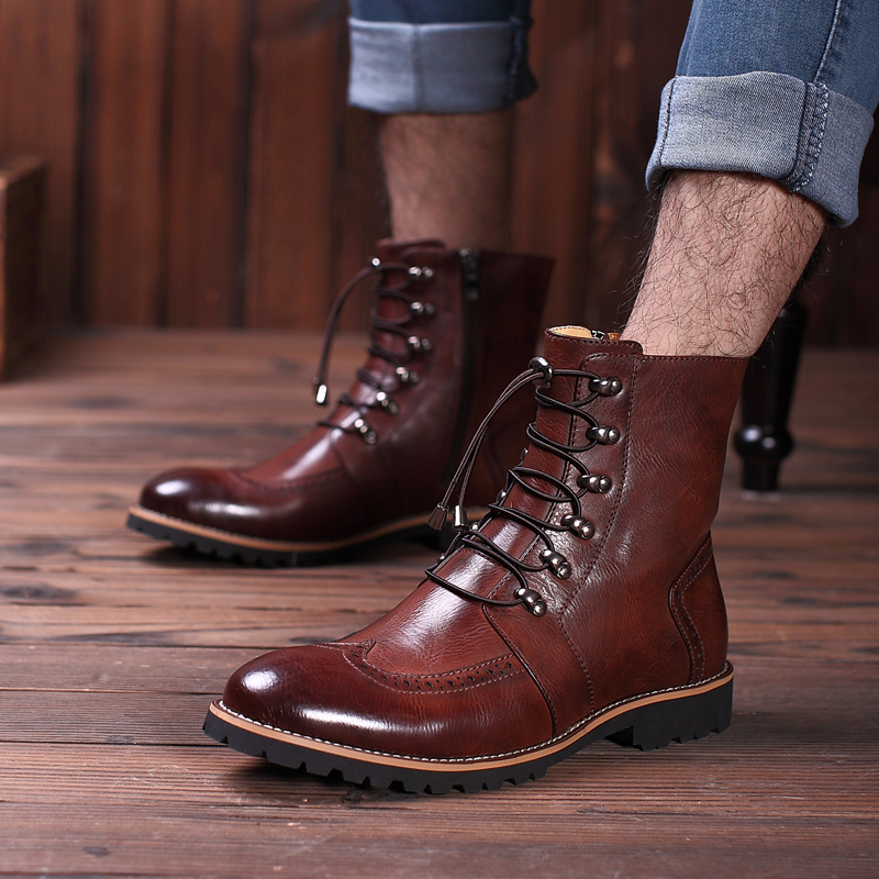 Find great deals on eBay for men leather winter boots. Shop with confidence.