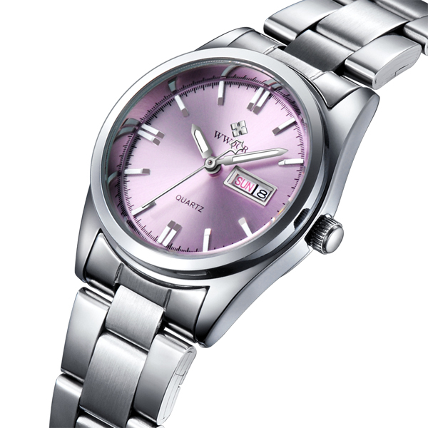f71404e2aa4 New Brand Relogio Feminino Date Day Clock Female Stainless Steel Watch  Ladies Fashion Casual Watch Quartz Wrist Women Watches