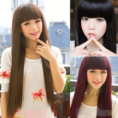 9e39b5d8ec5 New Style Fashion Long Straight women wigs Full Hair Wigs Cosplay/Party 08QX