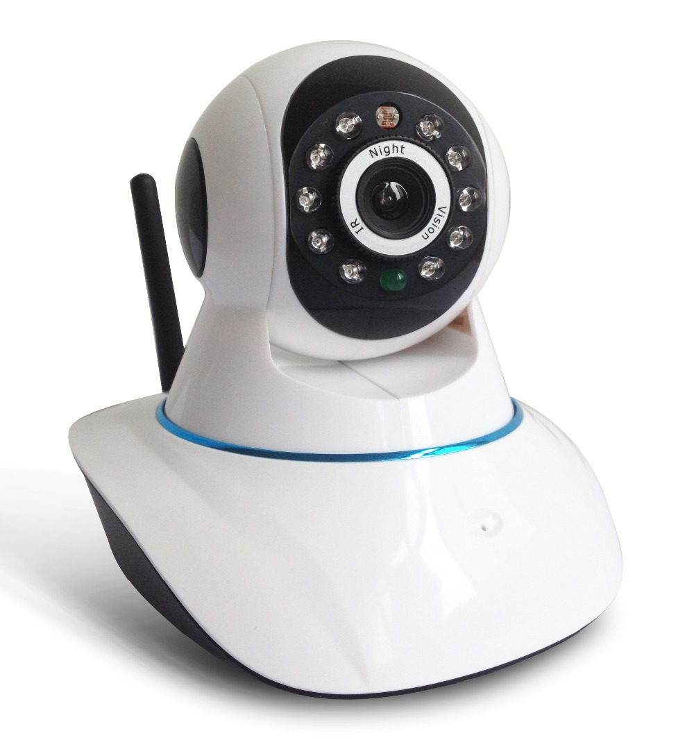 Onvif P2P 720P IP Camera MegaPixel HD with Pan/Tilt Support 64G SD ...