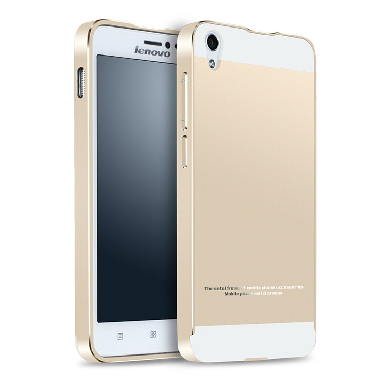 Luxury House With Phone With: S850 Luxury Ultra Thin Aluminum Metal+ Acrylic Glass Back