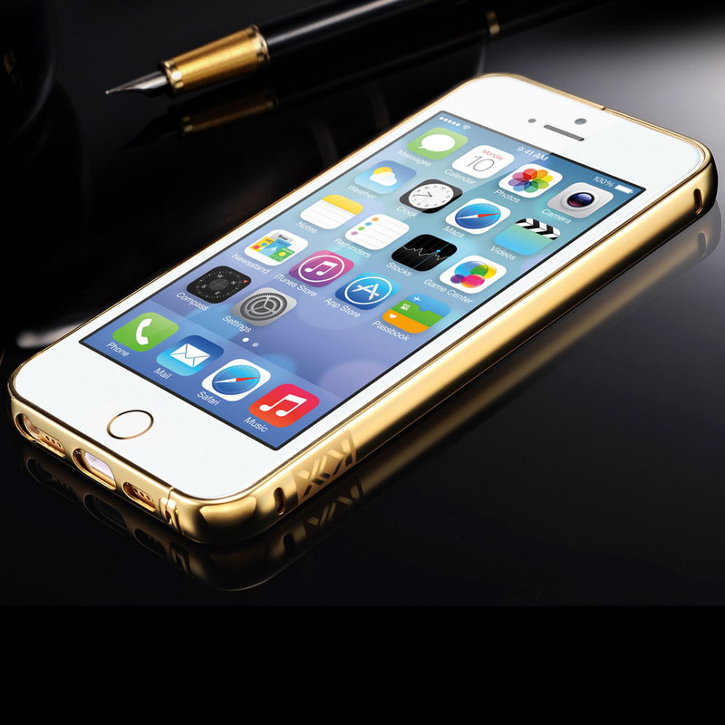 Luxury House With Phone With: Tomkas Ultra Slim Mirror Case For IPhone 5 Mobile Phone