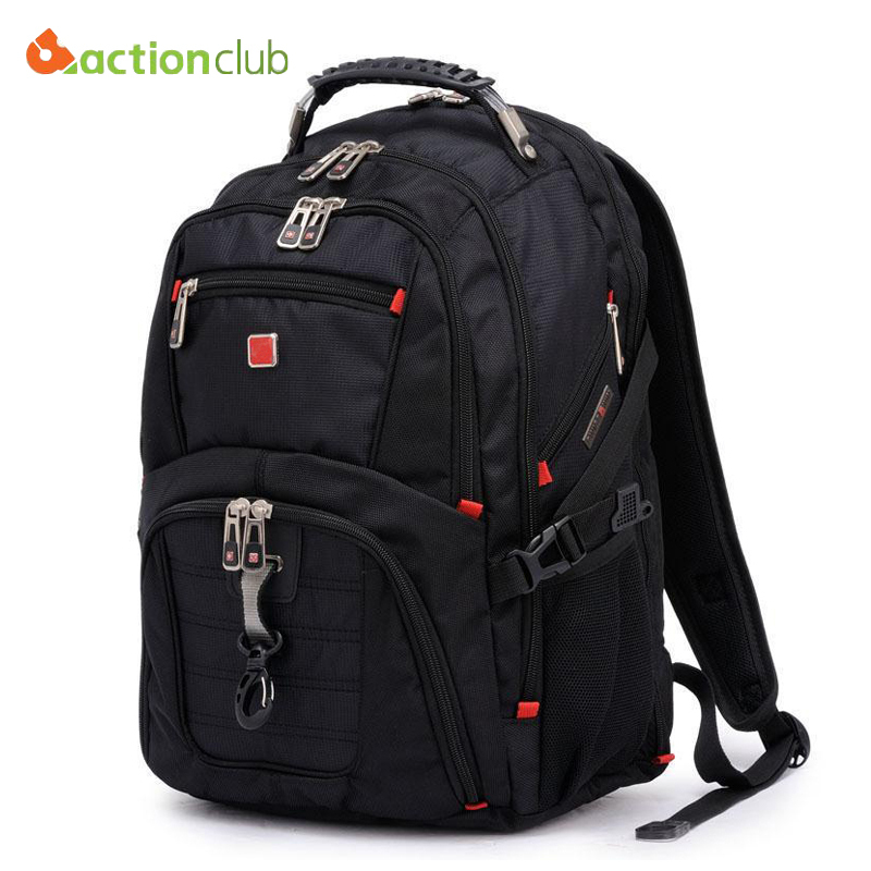 267f6454e716 Swisswin Laptop Backpack Swissgear Mochila Masculina 15.6inch Man s  Backpacks Men s Luggage   Travel bags Sports Bag Wholesale