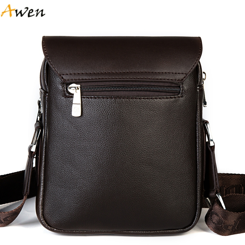 Leather Men Messenger Bags Promotional Crossbody Shoulder Bag Casual Man Bag