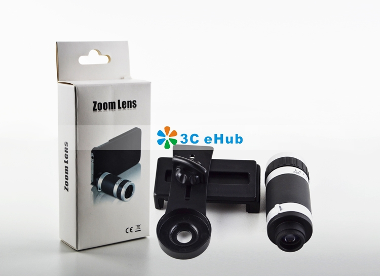 Clip telescope mobile phone lens telephoto len for lg g x