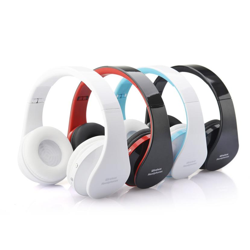 Foldable Wireless Bluetooth Stereo Headset Handsfree Headphones Mic 51108 Bee Clean Products