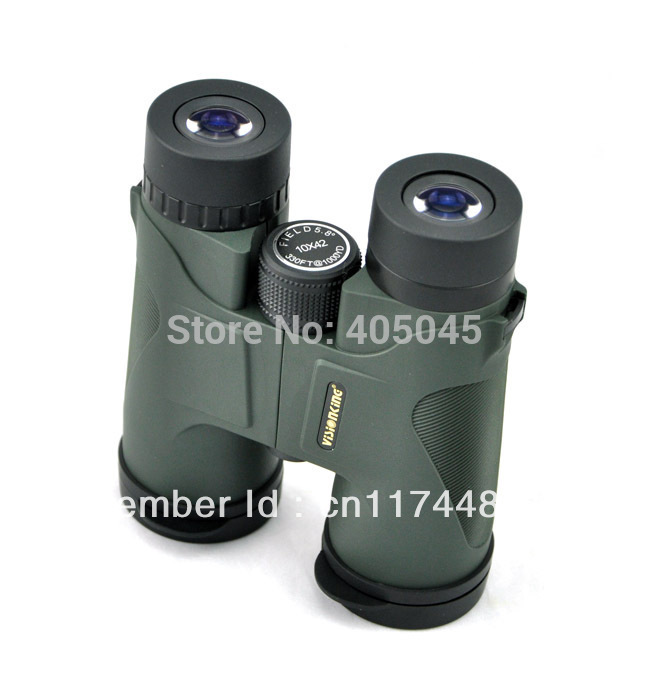 Free Shipping Visionking 10x42 Hunting Roof Binoculars