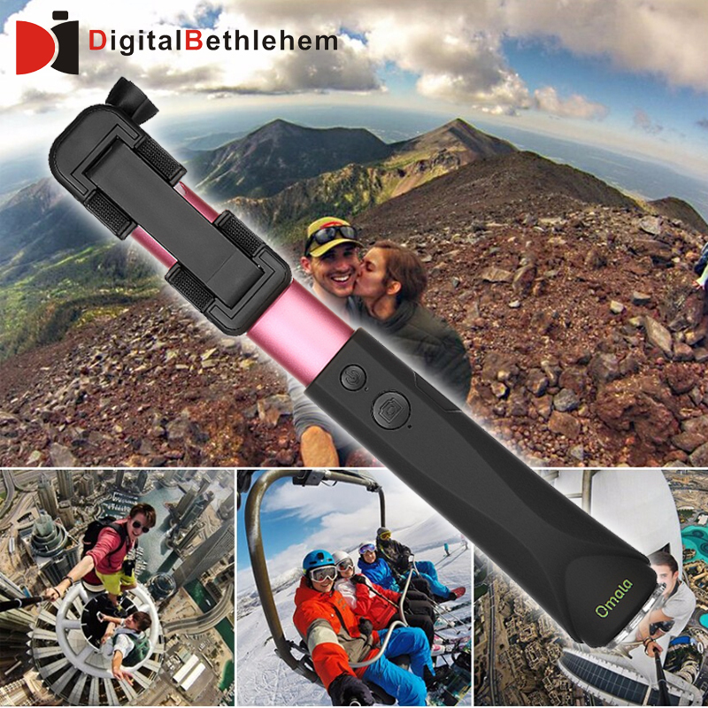 omala selfie stick extendable pole bluetooth self shooting monopod for iphone 6 plus for iphone. Black Bedroom Furniture Sets. Home Design Ideas