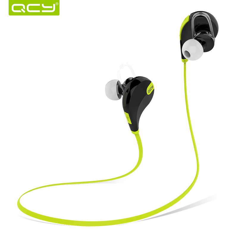 Original QCY QY11 AMO Wireless Bluetooth 4.1 Headphone with Microphone  Binaural Stereo Music Bluetooth Headset Sport 0a1c53e5cb