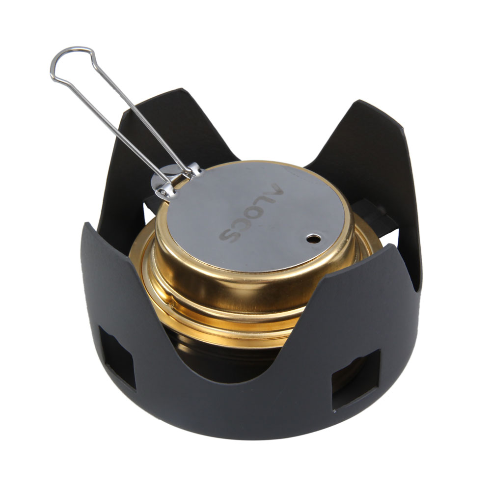 Ultra Light Mini Camping Alcohol Stove Furnace With Stand Daftar Kompor Portable Outdoor High Quality Picnic New Spirit Combustor