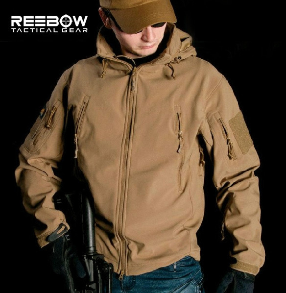 V4.0 Waterproof Soft Shell Tactical Jacket Outdoor Hunting ...
