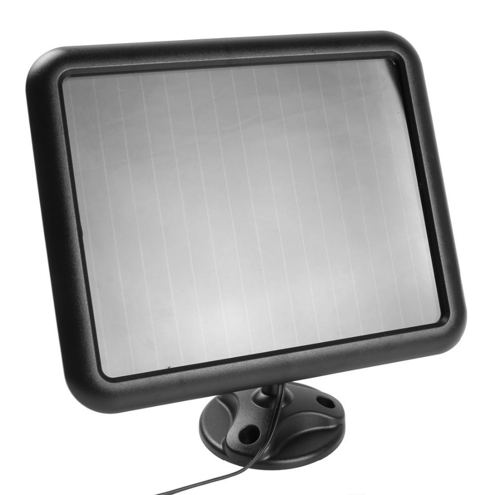 Solar Panel Led Flood Security Garden Light Pir Motion Sensor 60 No Wiring Wirless Wall Lamp For Leds Path Lamps