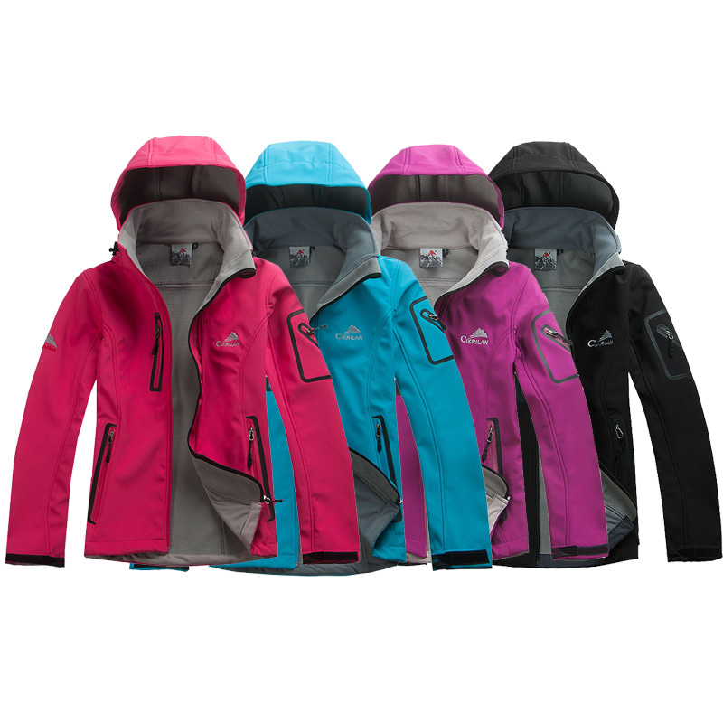 hot sale Female Outdoor Waterproof Climbing Skiing Jackets