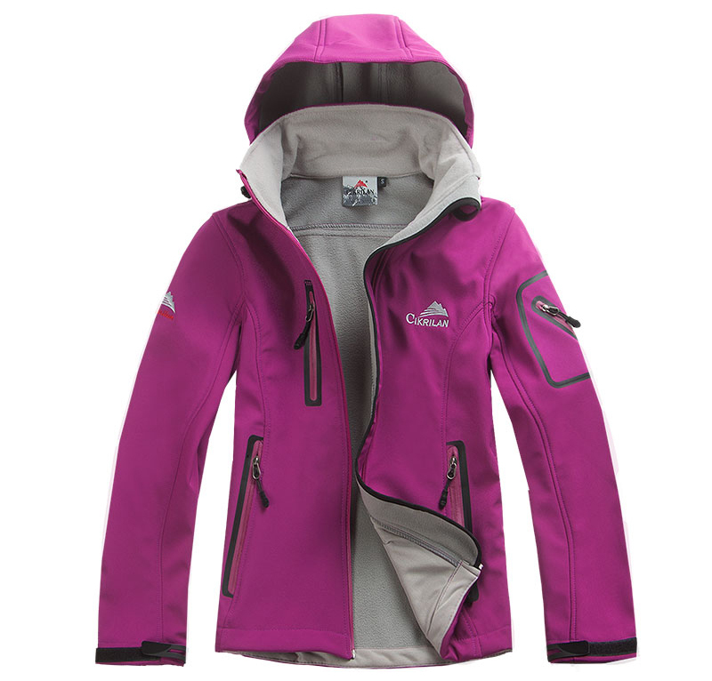 7268492ff hot sale Female Outdoor Waterproof Climbing Skiing Jackets Windbreaker ...