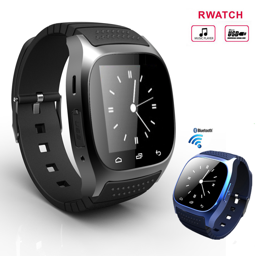 2015 Hot Smart Watch M26 Smartwatch sync Call for Iphone Android ...